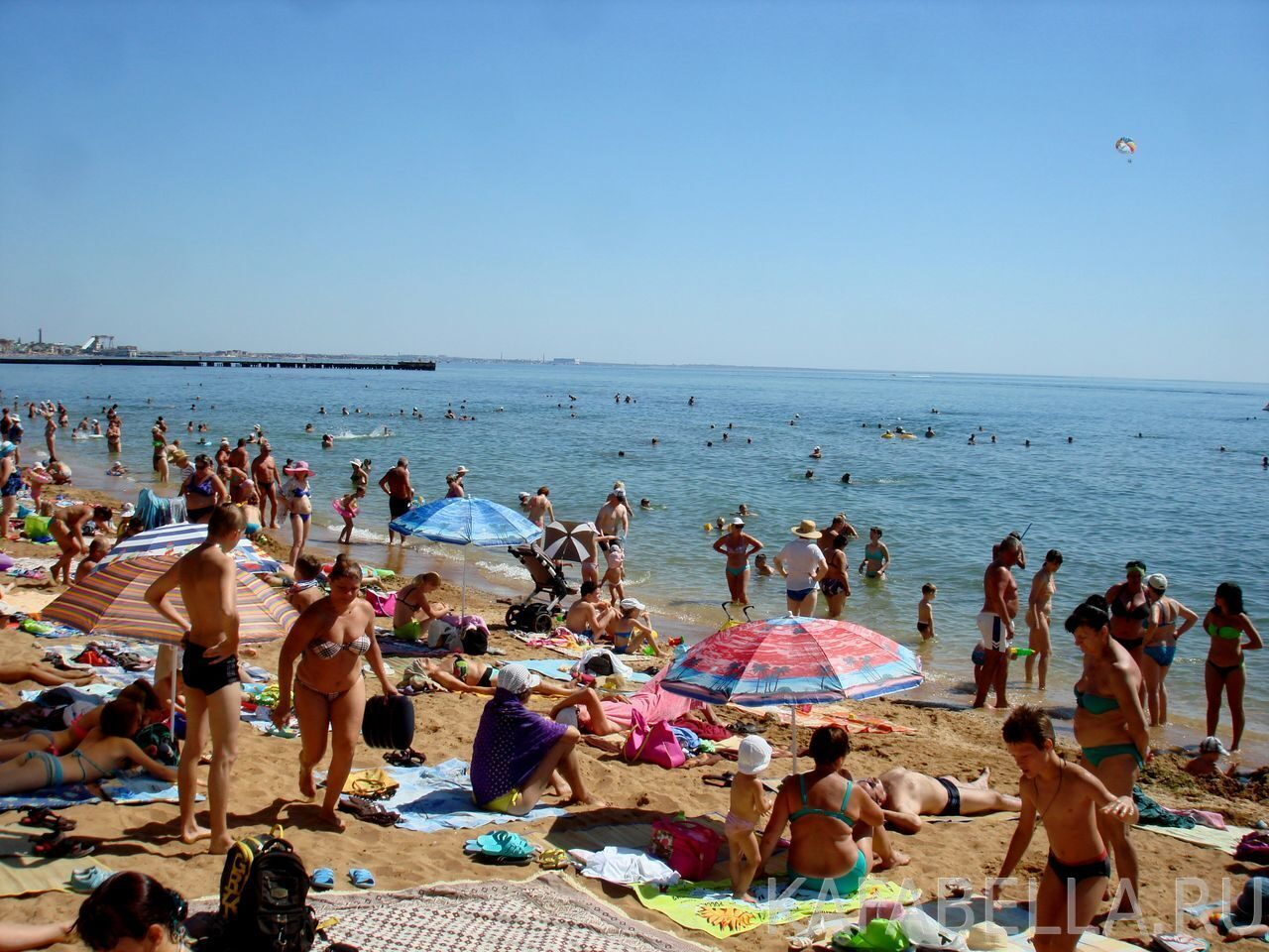 Фото пляжей феодосии август