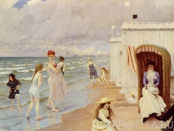 44542971_1900_Fischer_Paul__A_Day_At_The_Beach